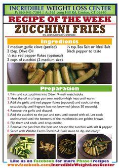 IP /Zucchini Fries/Phase 1