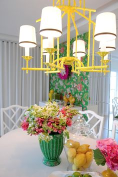 Inspired Collection: Kelly Green with a Lemon Pop Decor | Daily Digs