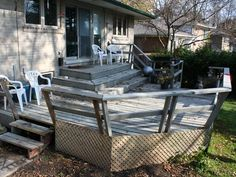 Must-See Backyard Deck and Patio Makeovers:  From DIYNetwork.com from DIYnetwork.com