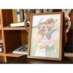Love Story, Frame, Design, Creema, Wedding, Picture Frame, Valentines Day Weddings, Weddings, Frames