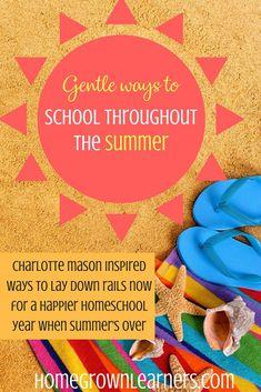 Summer Activities, Learning Activities, Classical Education, Summer School, Summer Fun, Diy School, School Ideas, Charlotte Mason, Homeschool Curriculum