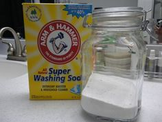 For those looking for a natural, homemade laundry soap recipe that does NOT include Borax!!  (a powdered detergent)