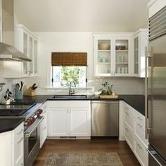 Small Kitchen Idea Contemporary Kitchen By Michael Kelley Photography