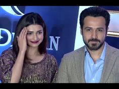 Emraan Hashmi & Prachi Desai at Rebecca Dewan's fashion show 2016.