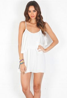 lovers + friends Sunkissed Dress in White $154