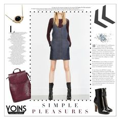 """Yoins"" by vidrica ❤ liked on Polyvore featuring Valentino, Topshop and yoins"