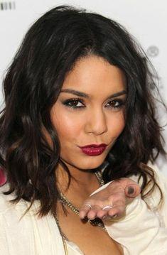 Vanessa Hudgens Berry Lipstick and short hair do Berry Lipstick, Lipstick Colors, Lip Colors, Peach Lipstick, Matte Lipstick, Liquid Lipstick, Brown Lipstick, Lipsticks, Wine Lipstick