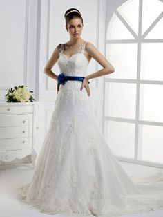 Straps Lace Wedding Dress