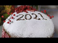 Greek Sweets, Dessert Recipes, Desserts, Bread Recipes, Food To Make, Christmas Bulbs, Homemade, Holiday Decor, Youtube