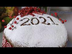 το ευκολο ΤΣΟΥΡΕΚΟΚΕΙΚ ΒΑΣΙΛΟΠΙΤΑ σαν ΠΑΝΕΤΟΝΕ - YouTube Greek Sweets, Dessert Recipes, Desserts, Bread Recipes, Food To Make, Christmas Bulbs, Homemade, Holiday Decor, Youtube