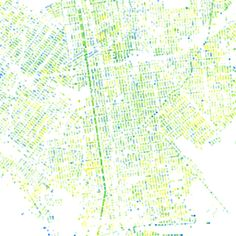 NYC Green Data: a census of street trees in the five boroughs of NYC