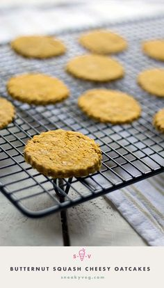 Delicious butternut squash cheesy oatcakes made with just three ingredients. A great hidden vegetable recipe they are perfect for lunch boxes and snacks. Hidden Vegetable Recipes, Hidden Vegetables, Healthy Eating For Kids, Healthy Snacks, Healthy Baking, Baby Food Recipes, Toddler Recipes, Toddler Snacks, Baking Recipes