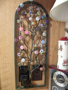 My new Magnabilities tree - the tag price says $29.99, but got it at Jo Ann's on sale