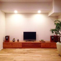 オーダー家具・テレビボード ブラックチェリー/東京 | oguma | oguma