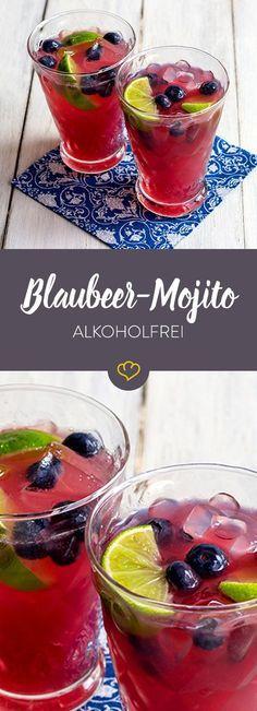 Das Rezept für den erfrischenden Blaubeer Mojito sowie viele weitere köstliche alkoholfreie Cocktails finden Sie im Springlane Magazin.