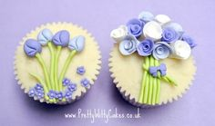 Flower Cupcakes in Bloom Class | Pretty Witty Cakes