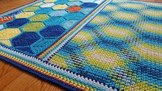 candow honeycomb planned pooling baby blanket