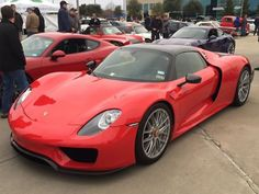 2015 Red Porsche 918 Spyder Cars & Coffee Dallas (Photo by Bill Orr) #MavPCA #PCA #PorscheClub #PorscheLife #PCANational #PorscheClubOfAmerica #Porsche #porschelovers #love #PorscheLife #Porsche918 #Porsche918Spyder #918Spyder #918 #Spyder #photooftheday #picoftheday #instagood #follow #cars #drive #speed #SuperCar #SuperCars #ExoticCar #ExoticCars #SportsCar #SportsCars #carsandcoffee #luxury #car