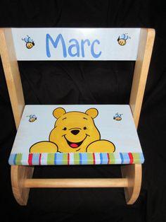 personalized chair step flip stool winnie by andrewandelladesigns