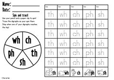 Worksheet Digraph Worksheets ch digraph worksheets kindergarten school cut and paste sh th wh worksheets