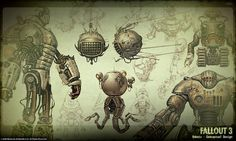 Guy that designed Fallout3 for Bethesda has died this is his artwork its beautiful