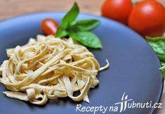 LCHF – keto těstoviny za 3 min Low Carb Keto, Lchf, I Foods, Vegetarian Recipes, Spaghetti, Pasta, Baking, Ethnic Recipes, Fitness