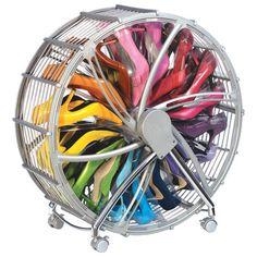 Rakku 30-Pair Shoe Wheel in Silver  at Joss and Main