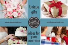 The perfect #birthday gift ideas are waiting for you at cakecarnival.com. Order today and delight your friends and #family with a unique and #delicious gift! Visit our website : www.cakecarnival.com