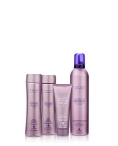 Create weightless volume with our amplifying blend of peptides and polymers.