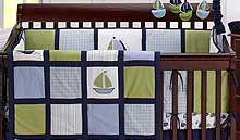 Zachary Nautical Baby Bedding