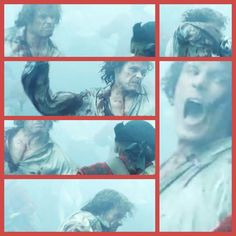 Outlander season 2 Jamie Fraser in battle at Prestonpans.