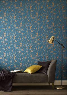 Graham & Brown launch Chelsea Flower Show-inspired wallpaper collection Modern Wallpaper, Textured Wallpaper, Wallpaper Roll, Designer Wallpaper, Teal Wallpaper Living Room, Wallpaper Designs For Walls, Green Wallpaper, Bedroom Wallpaper Ideas Green, Bedroom Wallpaper Patterns