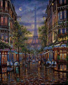 42 ideas for travel art painting paris france Tour Eiffel, Torre Eiffel Paris, Paris Kunst, Paris Art, Art Parisien, Maurice Utrillo, Share Pictures, Paris Painting, Georges Seurat