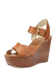MICHAEL Michael Kors Peggy Wedge Sandal, $150;