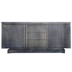 Cerused American of Martinsville Credenza | From a unique collection of antique and modern credenzas at https://www.1stdibs.com/furniture/storage-case-pieces/credenzas/