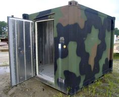 This Refrigeration Container could be very useful for preppers and survivalists. On GovLiquidation.