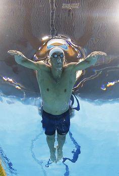ASSOCIATED PRESS Summer Olympics 2012 London/ Michael Phelps USA