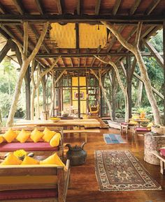 Bali Dreamhouse Eclectic interior ~ Boho living by Raul Barreneche
