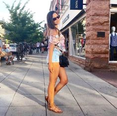 Summer Street Style! #summeroutfit #summerfashion #summertrends #outfitoftheday