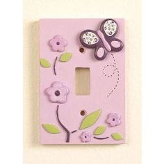 switch plate cover... prefer something pink though
