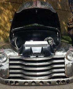 #chevrolet #chevy #advanceddesign #pickup #truck - drilled bumper #baresteel