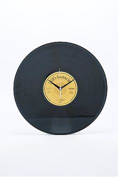Greatest Hits Vinyl Clock
