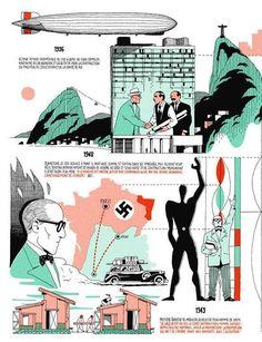 Infografía de la vida de Le Corbusier por Vincent Mahé. Más en http://pltfr.ma/1LOSvXt