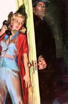 Art by Carl Bobertz...will the phone hurt?