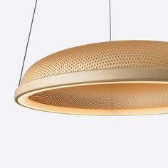 Details we like / Lamp / Circle Pattern / Yellow / Orange / Floating / Lighting Design /at MY EYES OPEN
