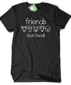 Vegan Shirt Vegetarian T Shirt Tee Mens Womens Ladies par BoooTees