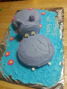 36 Best Hippo Cake Images
