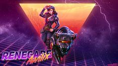 Renegade Awilix - 80's style wallpaper