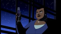 "Amanda Waller in ""Justice League"", voiced by CCH Pounder http://www.imdb.com/name/nm0001634/"