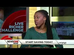 """Financial educator and author, Tiffany """"The Budgetnista"""" Aliche on News One Now w/ Roland Martin - YouTube"""
